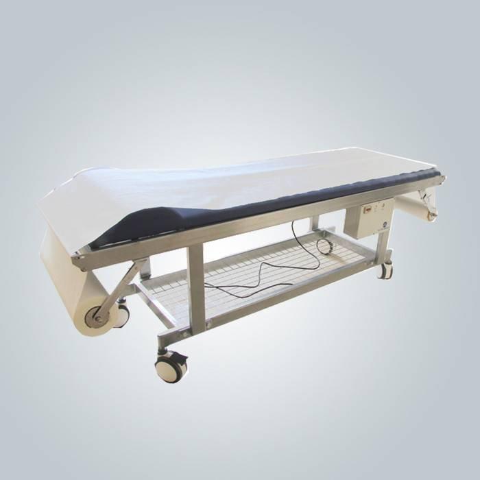Медицинский Non Woven Bed Sheet для больничных прошивок