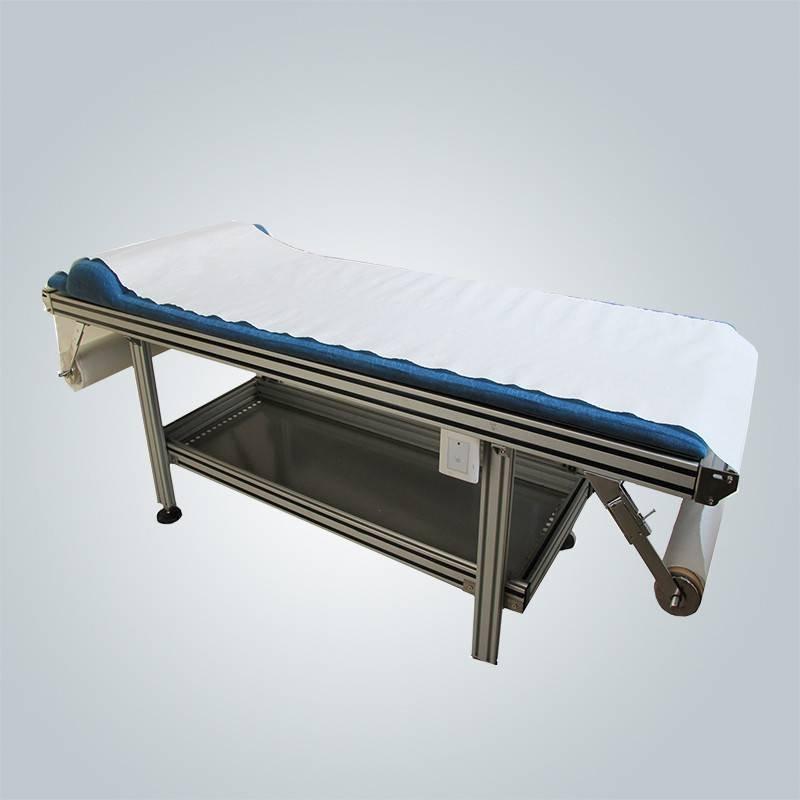 穿孔された不織布医療用ベッドシート