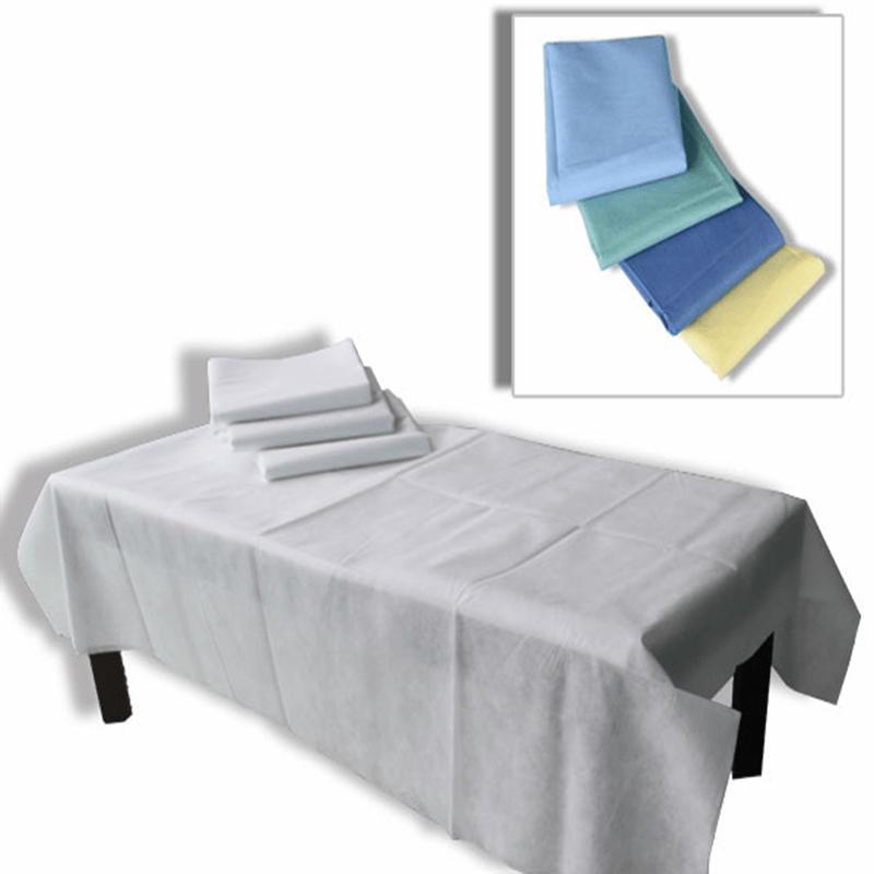 Hygienisches und wasserdichtes nicht gesponnenes medizinisches Bettlaken