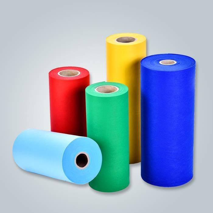 Beaucoup de différentes couleurs pour le tissu non tissé