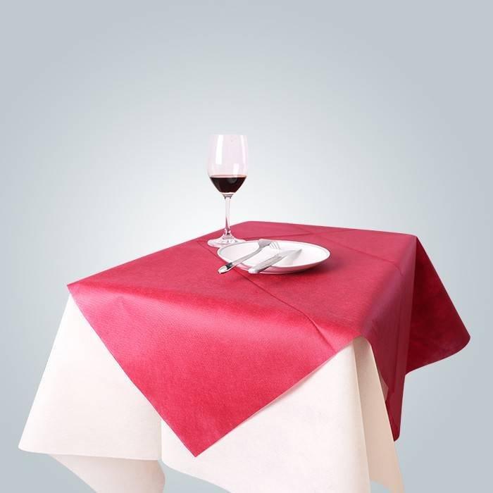 Couverture de table non tissée à usage domestique