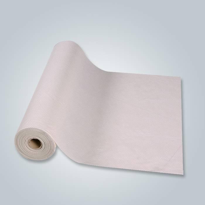 難燃性ノンスリップPP不織布(PVCドット入り)