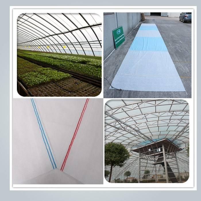 Extra width non woven landscape fabric