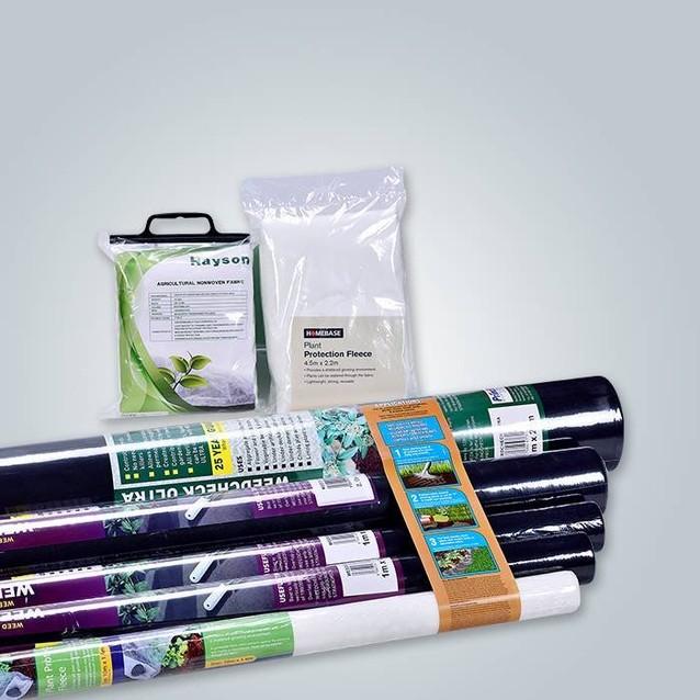 Биоразлагаемый 100% PP Сырьевой материал Spunbond Нетканый материал 50Gram