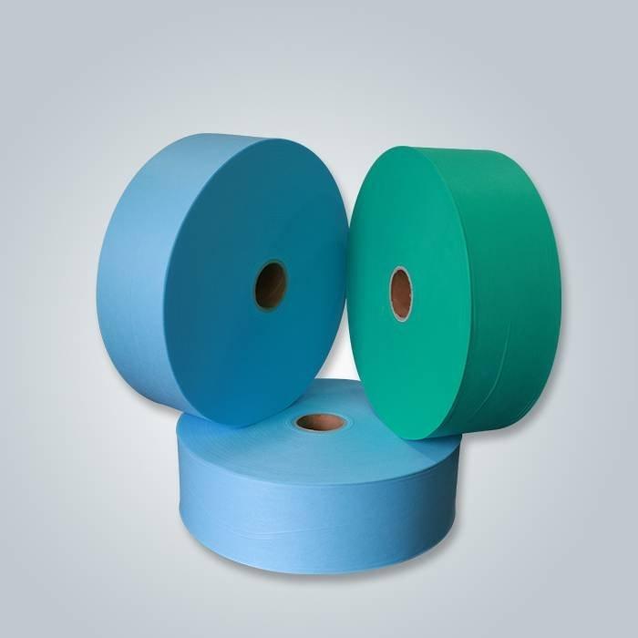 Lenzuolo non tessuto monouso blu