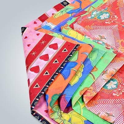 Tissu non tissé imprimé pour des couvertures de literie