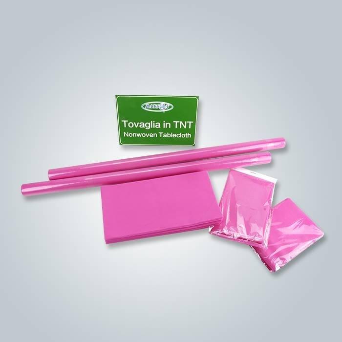 China Hersteller pp. Kleines Rollen-nichtgewebtes Gewebe für Tischabdeckung