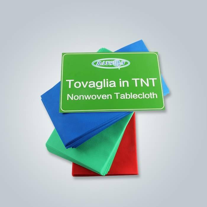 1m एक्स 1m Polypropylene टीएनटी टेबल कपड़ा रेस्तरां उपयोग के लिए