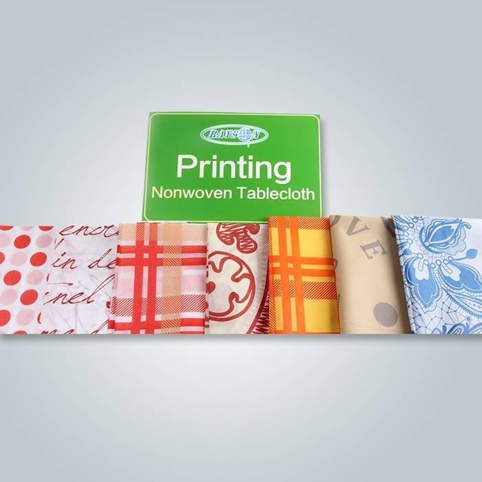 Design de impressão diferente para roupa de mesa