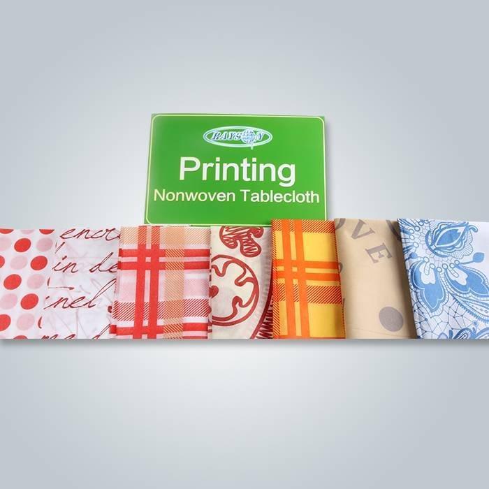 Diseño de impresión diferente para mantel