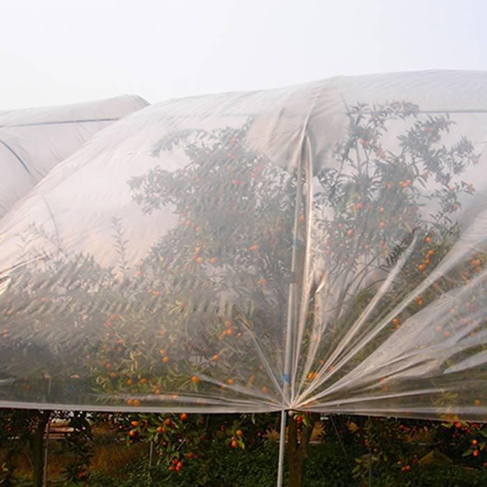 10g ~ 160g tela no tejida de la agricultura biodegradable del 3% ULTRAVIOLETA