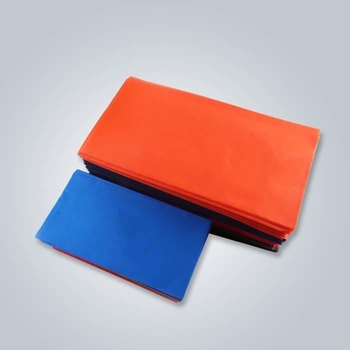 pano de mesa não tecido de laranja