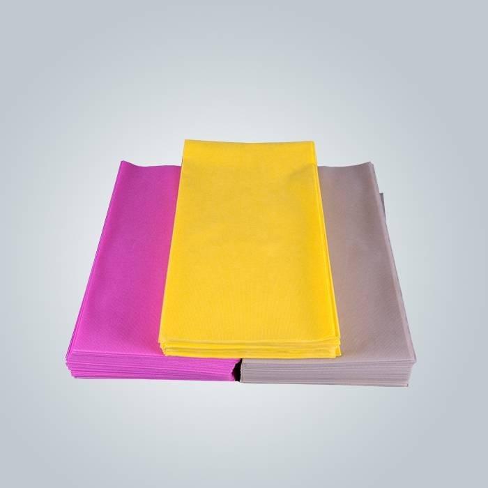 Fornecedor de tabelcloth não tecido / tampa de mesa descartável