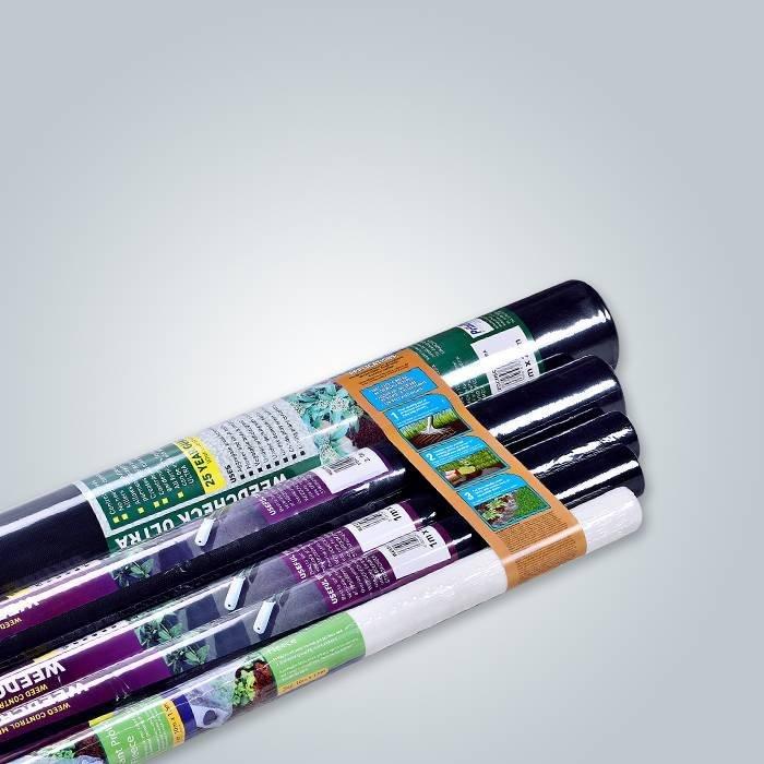 Anti Aging Pupular Landwirtschaftliche Bodendecker Schwarz / Weiß Farbe Spunbond Nonwoven