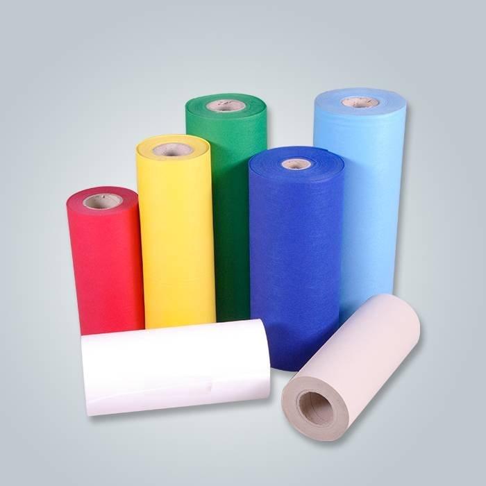 Tessuto non tessuto spunbonded di alta qualità, 100% PP, prezzo di fabbrica