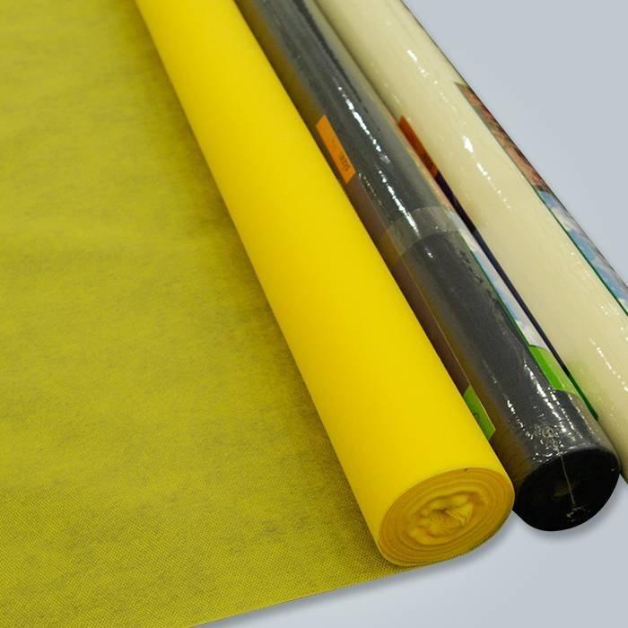 Tissu non tissé de ressort de poche de meubles de matelas de haute résistance 100% Pp Spunbond