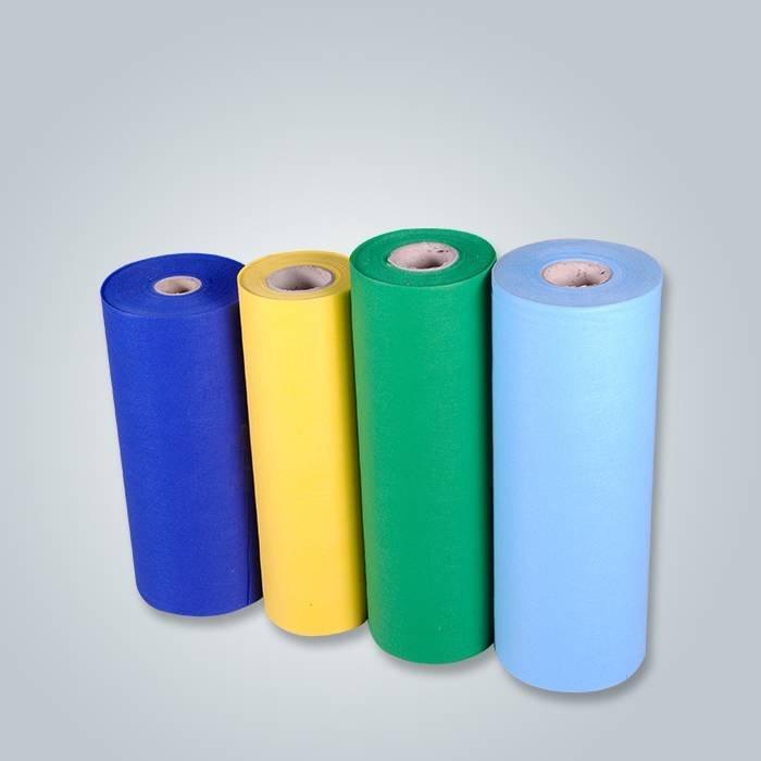 PP Spunbond Polipropileno Tecido não tecido com qualquer cor