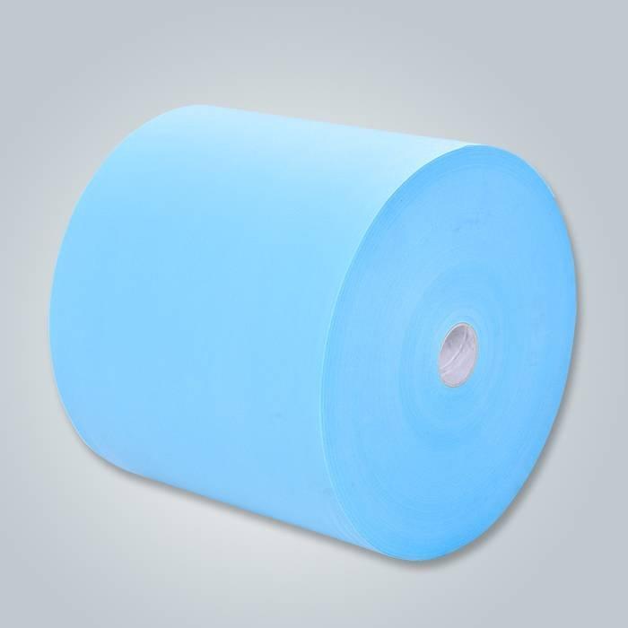 100 tecidos de poliéster não tecidos pp SS spunbond não tecidos