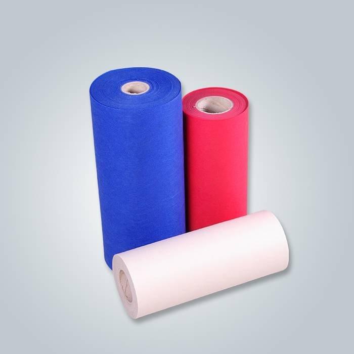 PP Tissu non-tissé de Microfiber Spunbond de pp pour l'instrument essuyant le matériel de tissu