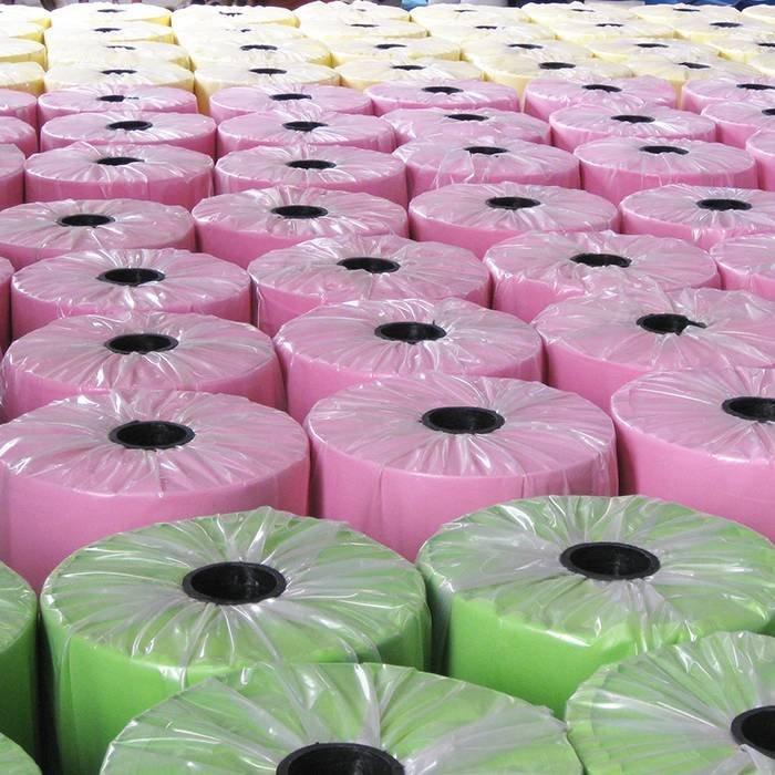 non tissé coloré pour l'industrie 70GSM de meubles 70GSM