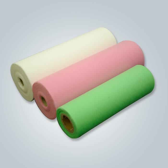 Técnicas hiladas y consolidadas de la tela no tejida y uso del hospital Spunbond