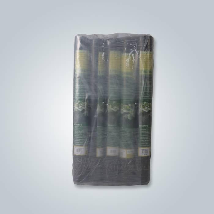 8 rollos por paquete tela negra paisaje