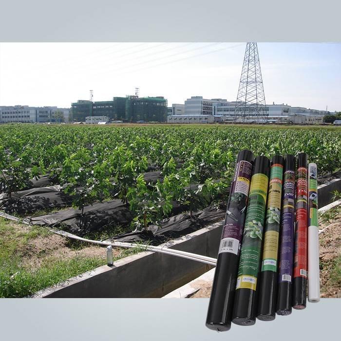 Spunbond нетканый коврик для управления сорняком