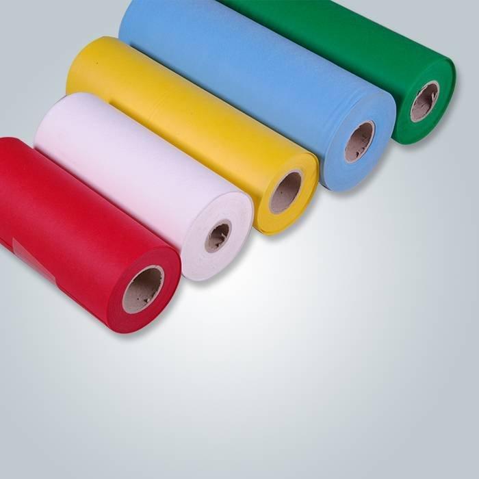 Rolos de tecido não tecido de polipropileno Spunbond