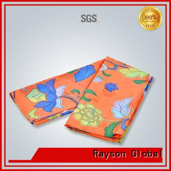 Wholesale 40gram spunlace nonwoven fabric suppliers bottom rayson nonwoven,ruixin,enviro Brand