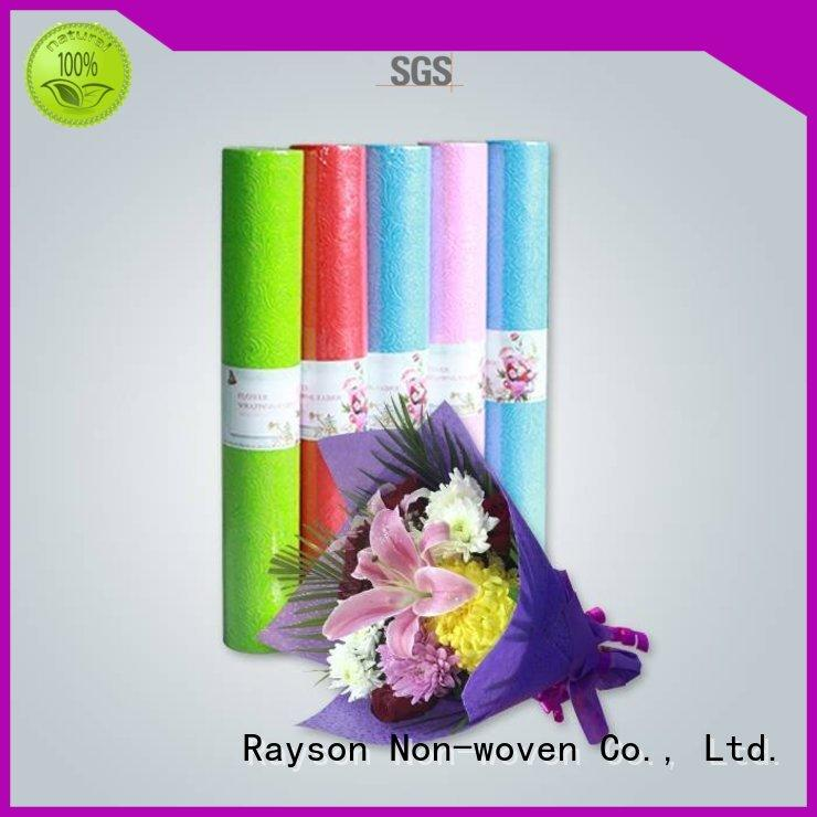 colored latest non woven weed control fabric 50gram packing rayson nonwoven,ruixin,enviro company