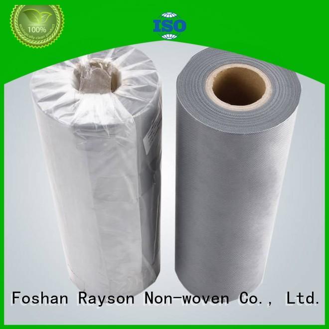 rayson nonwoven,ruixin,enviro Brand hospital water pink custom buy non woven polypropylene fabric
