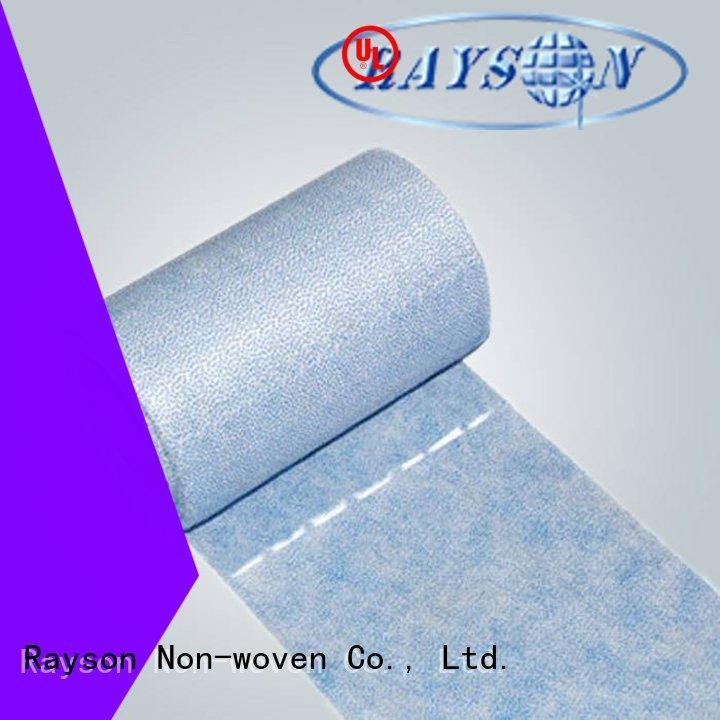 rayson nonwoven,ruixin,enviro Brand polyprolylene gram non woven textile manufacture