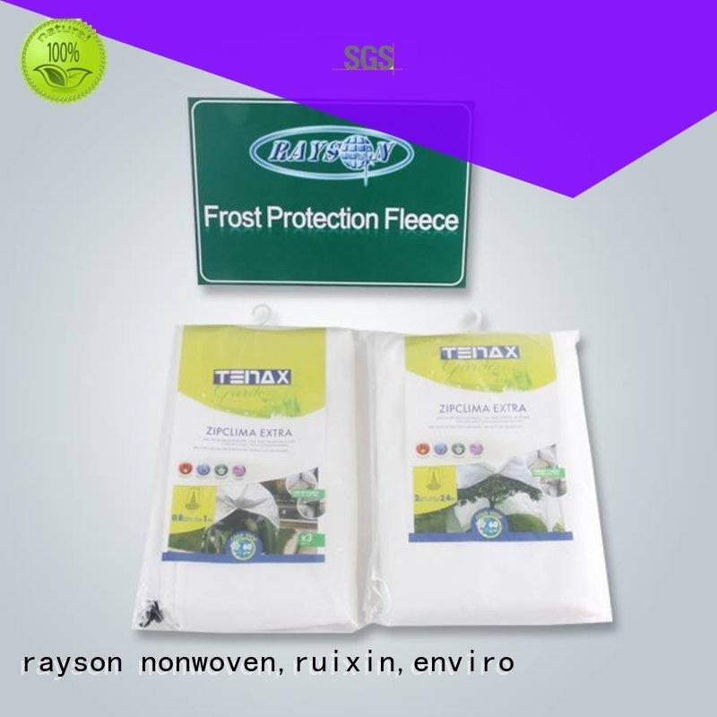 Rayson non-tissé, ruixin,enviro pp mauvaises herbes du sol contrôle tissu savoir maintenant pour veste