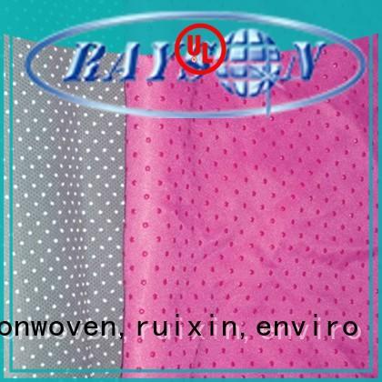 Rayson nonwoven,ruixin,enviro कवर nonwovens के संस्थान शौचालय के लिए अनुकूलित