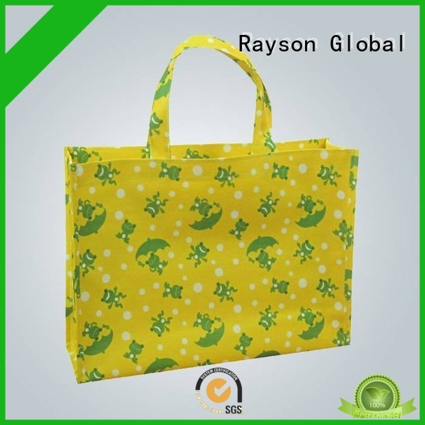 rayson nonwoven,ruixin,enviro logo non woven bag fabric price manufacturer for home
