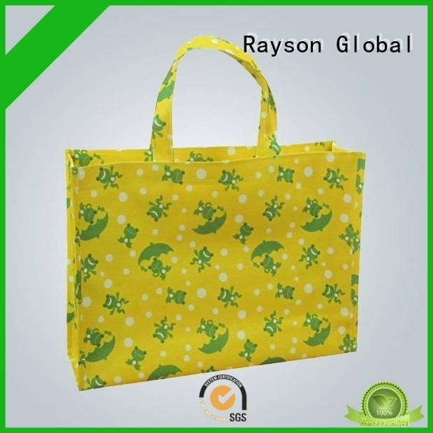 rayson nonwoven,ruixin,enviro logo non woven bag fabric price manufacturer for home