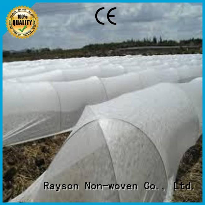 rayson nonwoven,ruixin,enviro Brand white edge revegetation landscape fabric drainage
