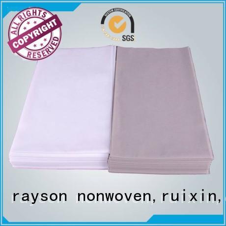 coated quality non woven clothes green clean rayson nonwoven,ruixin,enviro Brand