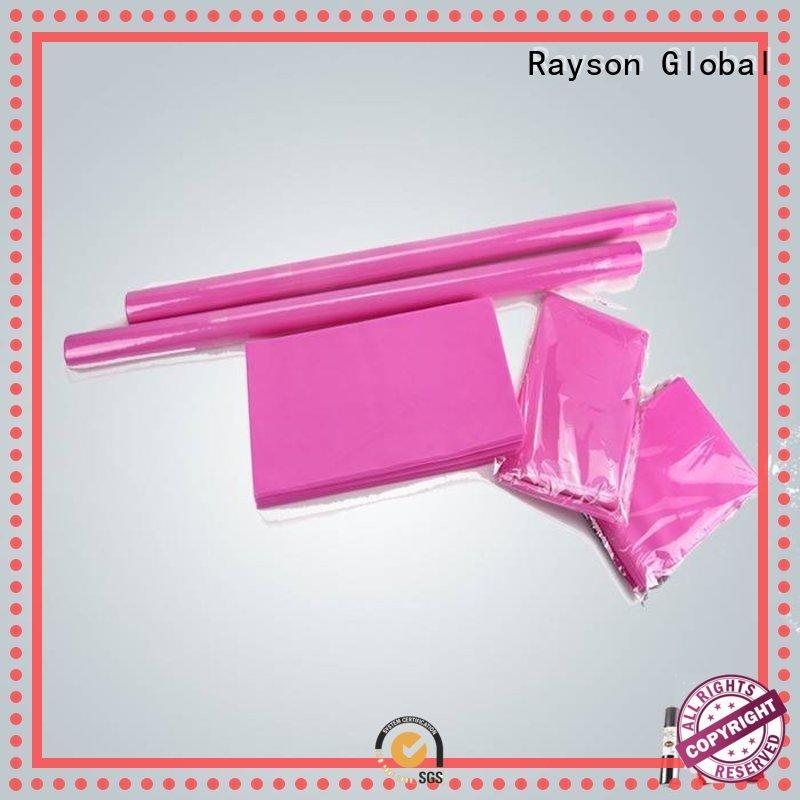 Fábrica de manteles cuadrados rayson no tejidos, ruixin,enviro brodeaux para embalaje