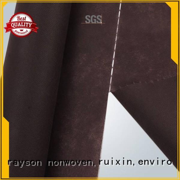 latest furniture OEM non woven weed control fabric rayson nonwoven,ruixin,enviro