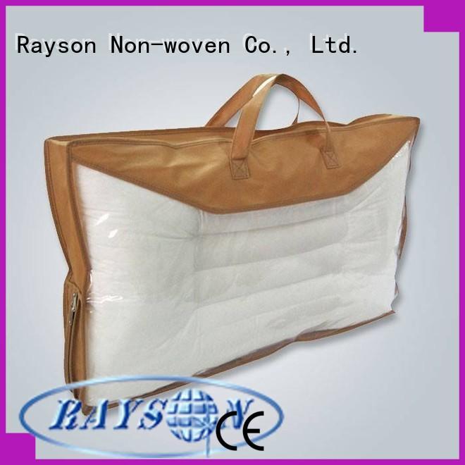 Rayson non-tissé, ruixin, enviro polypropylène spunbond tissu fabricant pour la couverture
