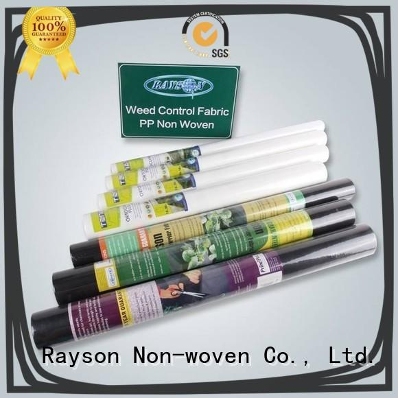 rayson nonwoven,ruixin,enviro brand raised garden bed landscape fabric personalized for covering