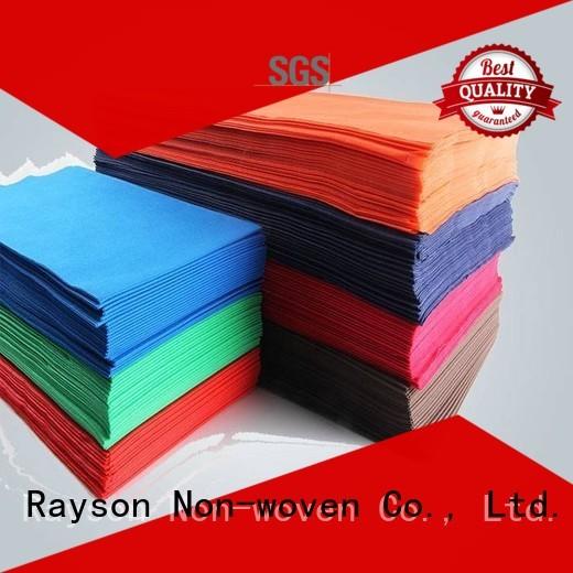 rayson nonwoven,ruixin,enviro Brand wine brodeaux sheet custom non woven cloth