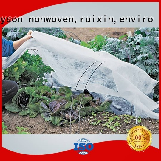 rayson nonwoven,ruixin,enviro Brand protecting antiuv proctection fabric for weeds growing