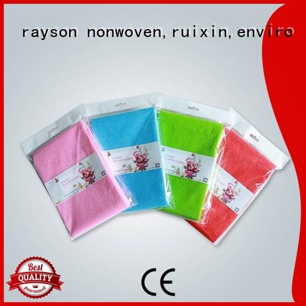 mesh upholstery non woven weed control fabric make rayson nonwoven,ruixin,enviro company