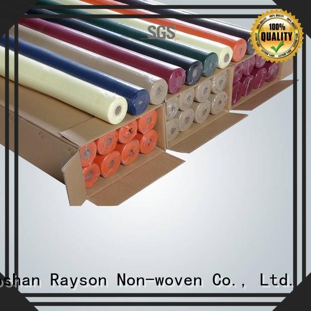rayson nonwoven,ruixin,enviro Brand 5m toxic direct non woven polypropylene fabric suppliers