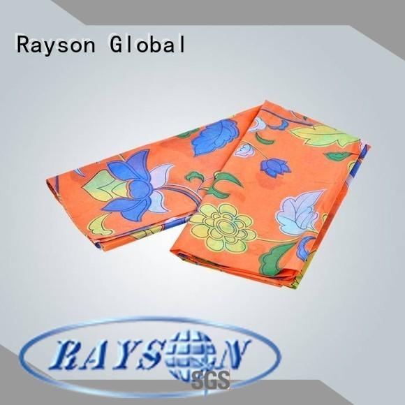 rayson nonwoven,ruixin,enviro Brand disposable fabric hydrophobic custom spunlace nonwoven fabric suppliers