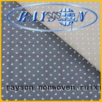 carpets balck grey non woven cloth manufacturers rayson nonwoven,ruixin,enviro Brand