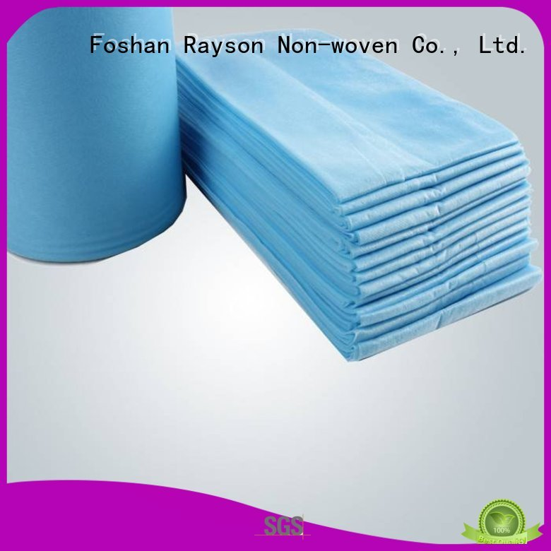 Hot as non woven fabric price laid absorbent rayson nonwoven,ruixin,enviro Brand