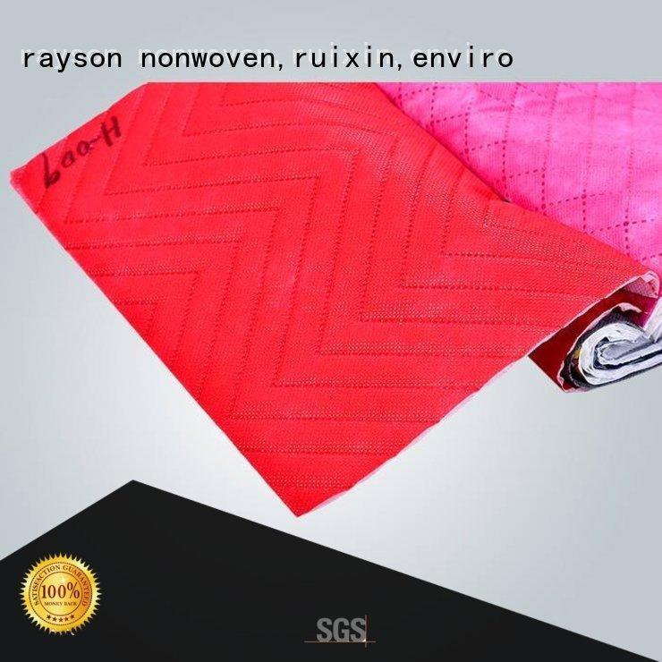 Rayson nonwoven,ruixin,enviro polipropileno spunbond tela no tejida Venta Directa para envolver
